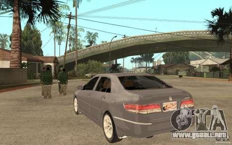 Honda Accord 2004 v2 para GTA San Andreas vista posterior izquierda