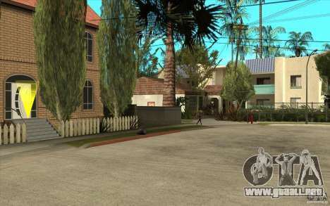 New Grove Street TADO edition para GTA San Andreas
