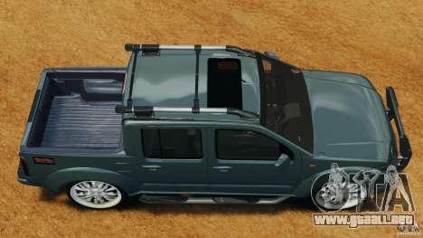 Nissan Frontier DUB v2.0 para GTA 4 visión correcta
