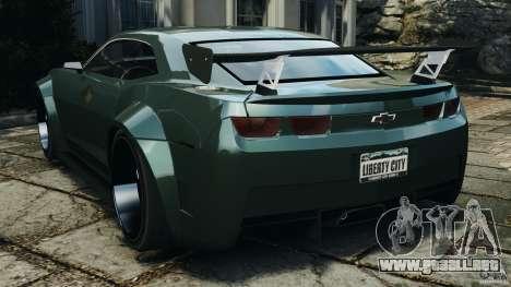 Chevrolet Camaro SS EmreAKIN Edition para GTA 4 Vista posterior izquierda