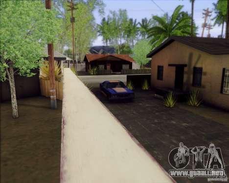 SA_Mod v1.0 para GTA San Andreas sucesivamente de pantalla