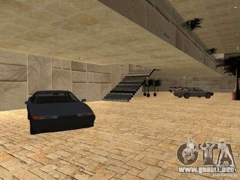 San Fierro Car Salon para GTA San Andreas quinta pantalla