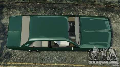 Chevrolet Chevette 1976 para GTA 4 visión correcta