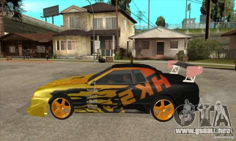 Tuneable Elegy v0.1 para GTA San Andreas left