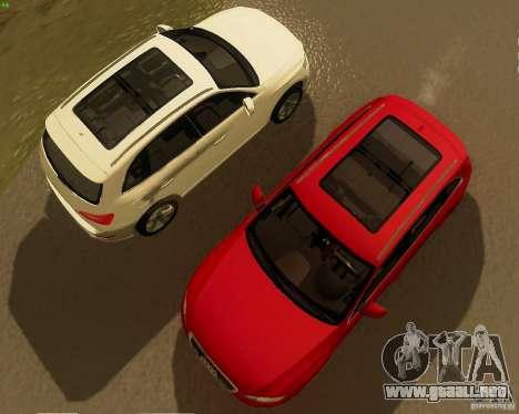 Audi Q5 para GTA San Andreas vista posterior izquierda