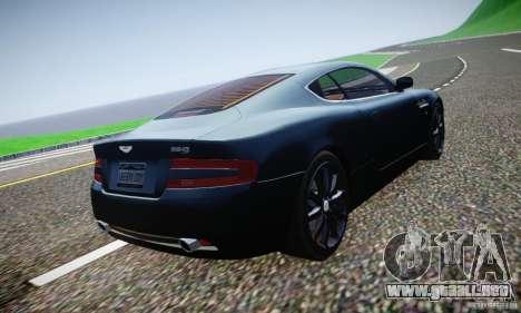 Aston Martin DB9 2005 V 1.5 para GTA 4 vista desde abajo