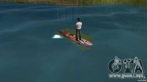 Surfboard 1 para GTA Vice City vista lateral izquierdo