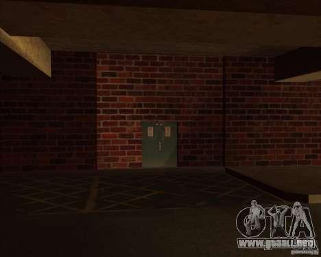 Policía de garaje nueva LSPD para GTA San Andreas
