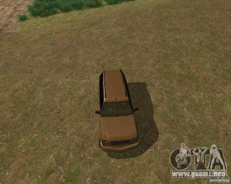 Cabalgata de GTA 4 para GTA San Andreas vista posterior izquierda