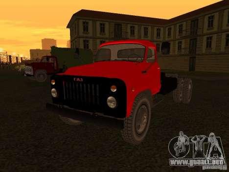 GAZ 53 camiones para GTA San Andreas
