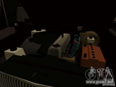 GAZ 3102 para visión interna GTA San Andreas