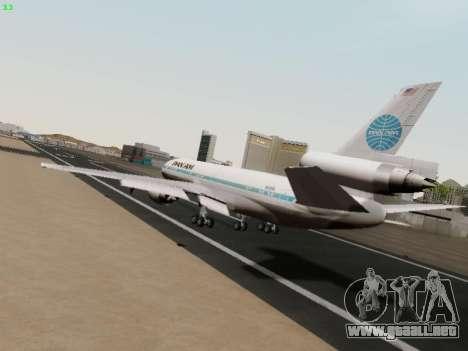 McDonell Douglas DC-10-30 PanAmerican Airways para la visión correcta GTA San Andreas