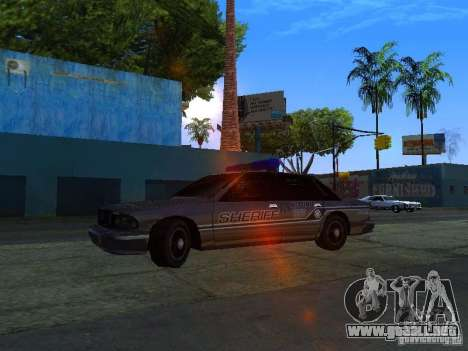 Lumpkin Country Sheriffs Office para GTA San Andreas left