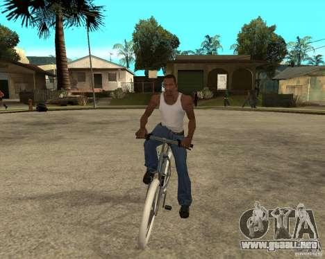 Kona Kowan texture para GTA San Andreas vista hacia atrás