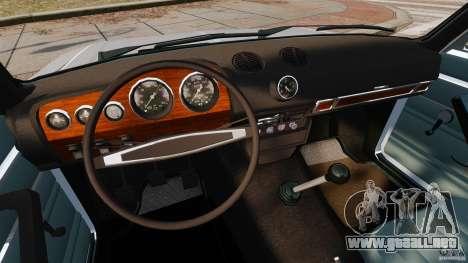 VAZ-2106 para GTA 4 vista hacia atrás
