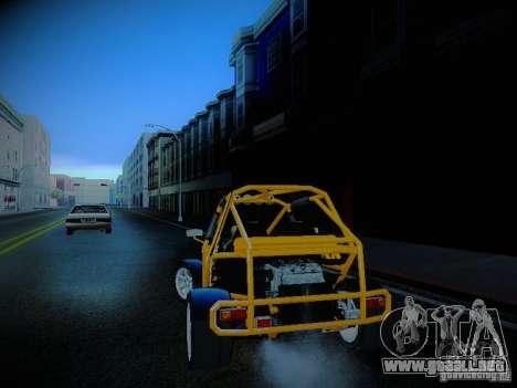 Buggy From Crash Rime 2 para GTA San Andreas left