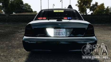 Ford Crown Victoria Police Unit [ELS] para GTA motor 4