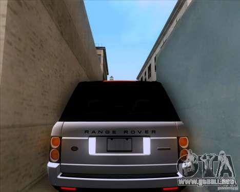 Range Rover Hamann Edition para la vista superior GTA San Andreas