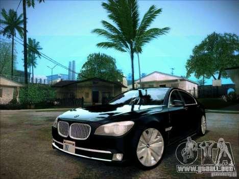 BMW 750Li 2010 para GTA San Andreas