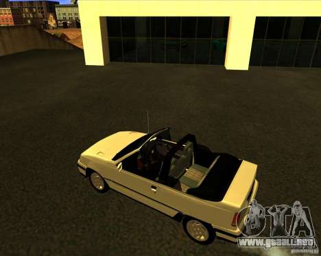 Chevrolet Kadett GSI 2.0 Conversivel (1991-1995) para GTA San Andreas left