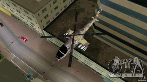 Mi-24 HindB para GTA Vice City vista lateral izquierdo