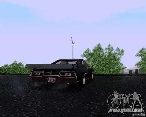 Super Natural ENBSeries para GTA San Andreas sucesivamente de pantalla
