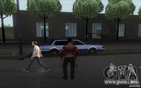 Pimp para GTA San Andreas sucesivamente de pantalla