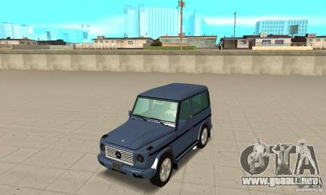 Mercedes-Benz G500 1999 Short [with kangoo v3] para GTA San Andreas