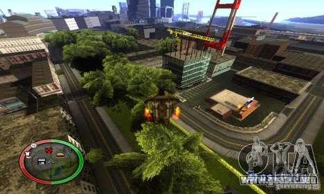 NEW STREET SF MOD para GTA San Andreas octavo de pantalla