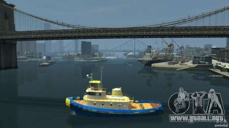 New Tug Texture v.2 para GTA 4 left