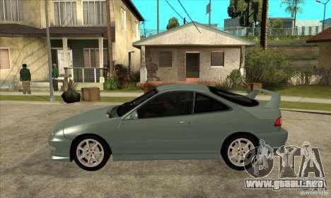Acura Integra Type-R - Stock para GTA San Andreas left