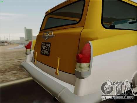 GAS 22 para la visión correcta GTA San Andreas