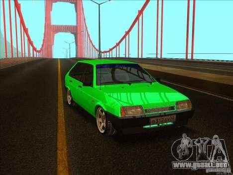VAZ 2109 invierno para GTA San Andreas