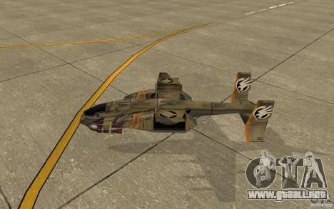 Aire Orca Command and Conquer 3 para GTA San Andreas