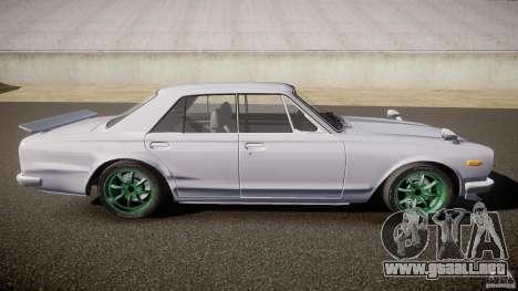 Nissan Skyline GC10 2000 GT v1.1 para GTA 4 left