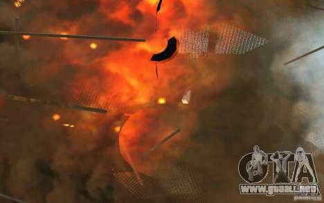 Agujero negro para GTA San Andreas sucesivamente de pantalla