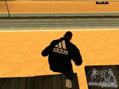 Nuevo skin para Gta San Andreas para GTA San Andreas segunda pantalla