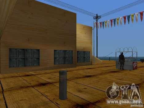 Playa nueva textura v2.0 para GTA San Andreas octavo de pantalla
