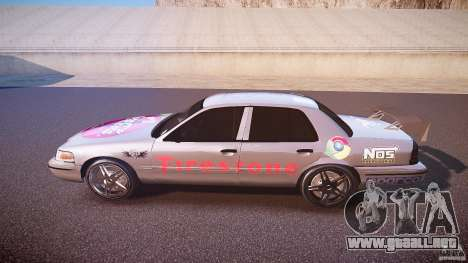 Ford Crown Victoria Tuning (Beta) para GTA 4 left