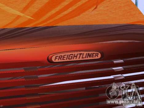 Freightliner Columbia para la vista superior GTA San Andreas