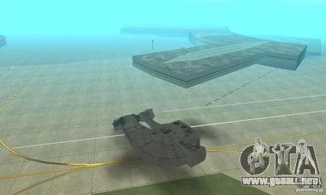 Gaceta YT-2400 para GTA San Andreas left