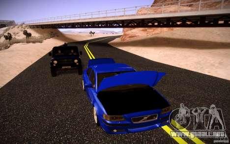 Volvo S 60R para visión interna GTA San Andreas