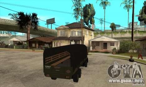 DFT-30 Brazilian Army para la visión correcta GTA San Andreas