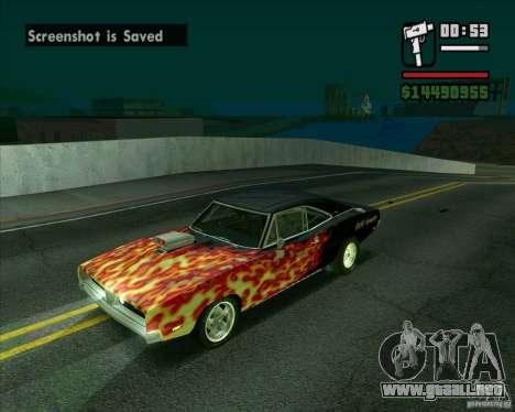 Dodge Charger R/T 69 para GTA San Andreas