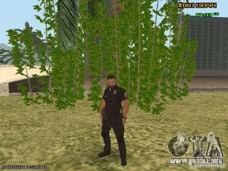 SAPD skins para GTA San Andreas segunda pantalla