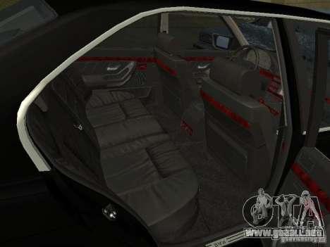 BMW 740I E38 (RUS) para GTA San Andreas vista hacia atrás