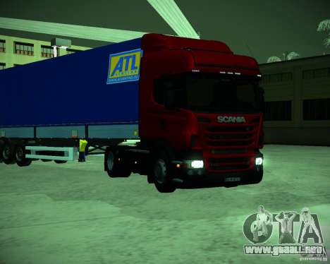 Scania R440 para GTA San Andreas left