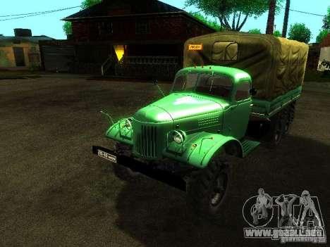 ZIL 157 Truman para visión interna GTA San Andreas