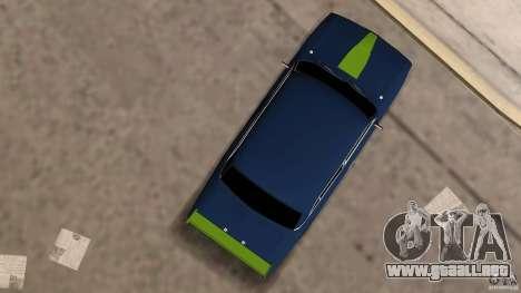 2106 VAZ Tuning v2.0 para GTA Vice City vista posterior