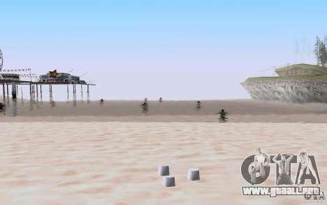 Reality Beach v2 para GTA San Andreas sucesivamente de pantalla